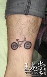 自行车 纹身
